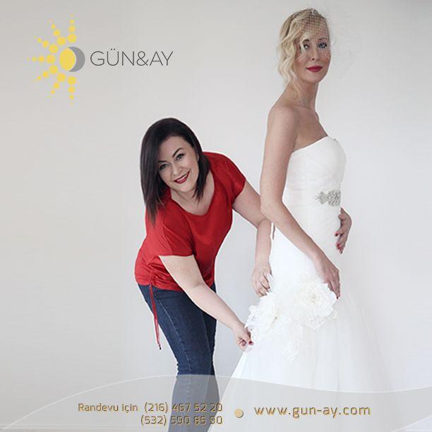 #Gün&Ay da işler hep neşe ve güzellikle yürür! #GünayGelinlik #gelin #gelinlik #düğün #gelinlikmodelleri #gelinlikprovası #wedding #bride #weddingdress #romance #marriage #aşk #prensesgelinlik #günay #nazankocaoglu