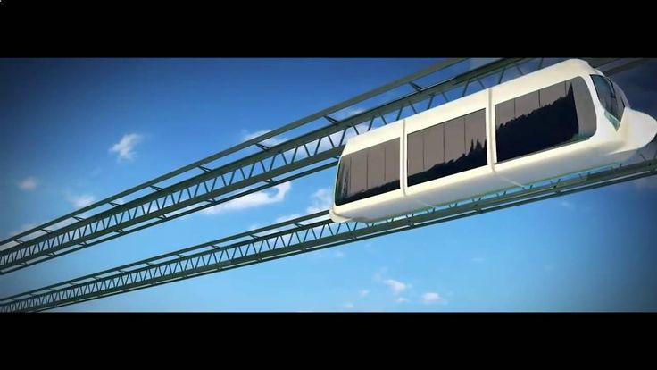 Visualization of SKY WAY eco transport system. More information: http://rsw-systems.com/?r=9733