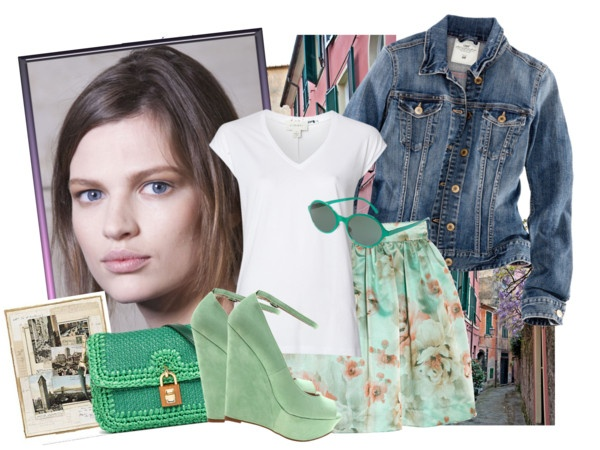 """""""COLOR VERDE MENTA by fran-guess"""" by fran-guess ❤ liked on Polyvore"""