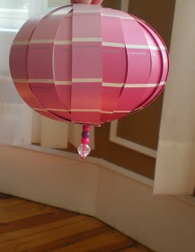Make It Grand: Paper Globe from Paint Chip Samples