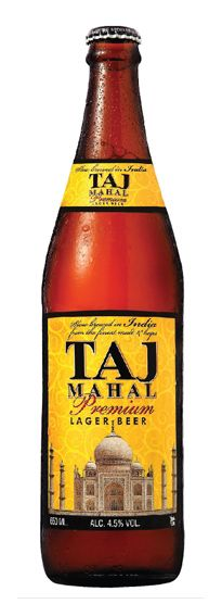 Taj Mahal Indian Beer - quite tasty and a nice compliment to Chicken Tiki Masala