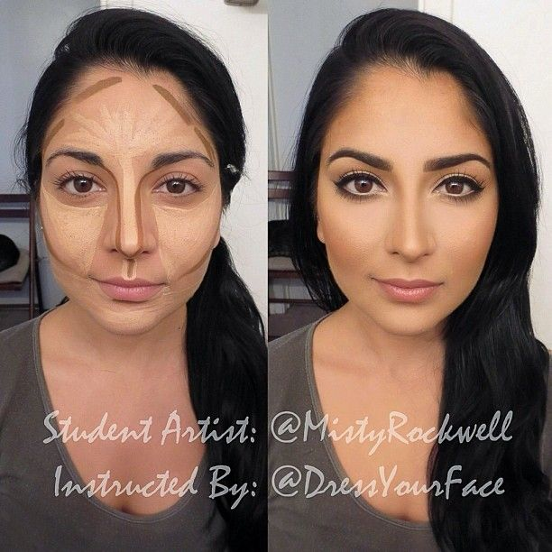 """✨@Crystal Chou Lopez PRO STUDENT OF THE DAY✨  Big shout-out to today's amazing student who flew in ALL the way from HOUSTON, TEXAS to officially become """"DressYourFace Certified,"""" the lovely makeup artist --->°•°•@MistyRockwell•°•° <--- who has just completed my Full-Day Pro Class on Advanced HD Bridal Makeup & Eye Techniques!  Here is just one of the many looks we did today which ranged from Soft Bridal all the way to Arabic and Desi Bridal looks!  This post shows our HD contouring technique…"""