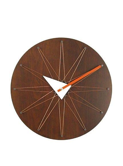 Cool reimagined mid century modern clock Verichon