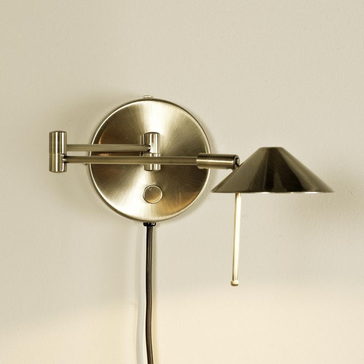 Contemporary Wall Lamps Swing Arms : Contemporary Cone Swing Arm Wall Lamp Home, Swings and Shades