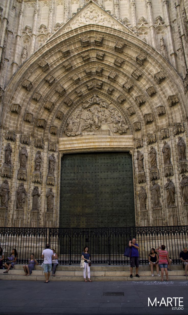 Pórtico de la Asunción  #puerta #pórtico #asunción #apóstoles #catedral #sevilla #andalucía