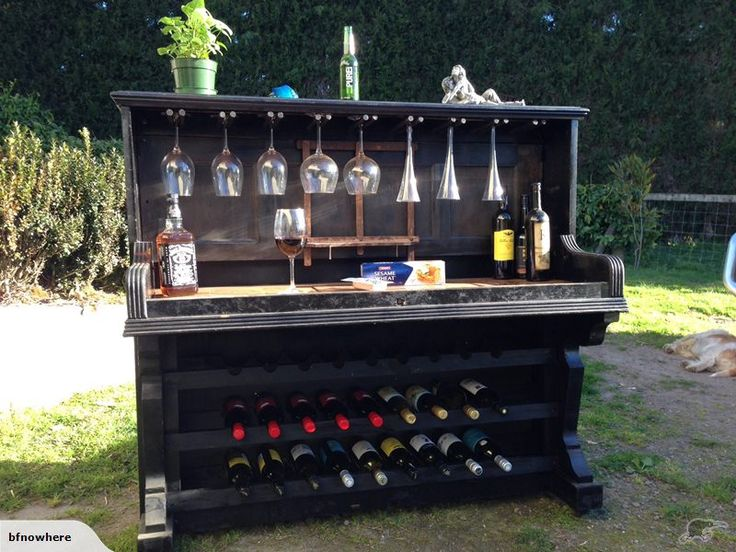 Piano Wine Rack - Holds 27 Bottles of 'Plonk' | Trade Me