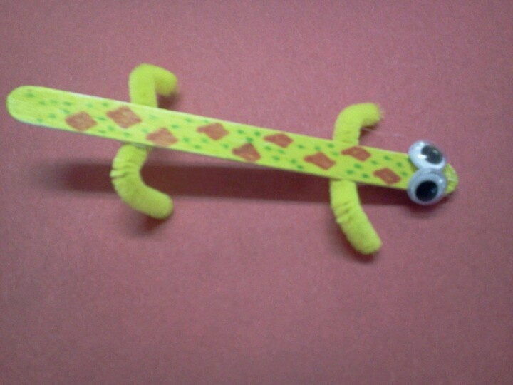 Lizard craft!! Good for practicing medial /z/ for articulation therapy