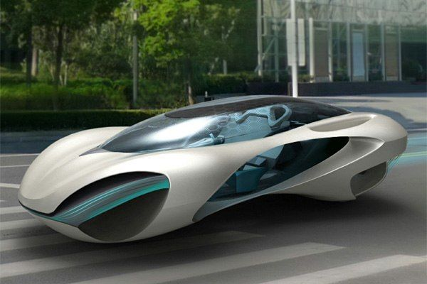 Decor: Futuristic Car