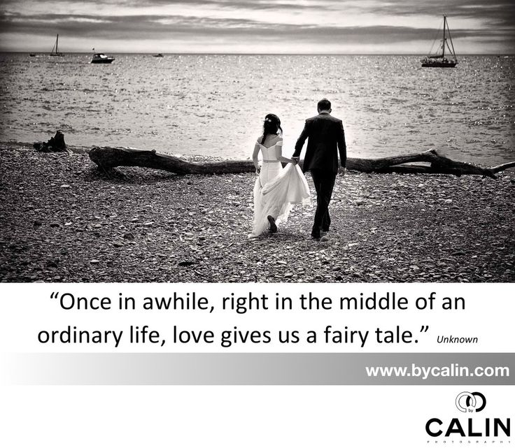 "Photography by Calin - Wedding Inspiration: Location: I love this quote: ""once in a while, right in the middle of an ordinary life, Love gives us a fairy tale"". Unknown author"