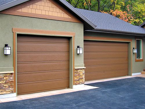 brown garage doors menards garage doors brown for the
