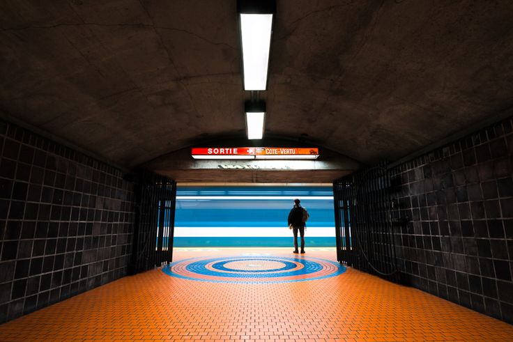 chris forsyth documents the montreal metro's underground architecture