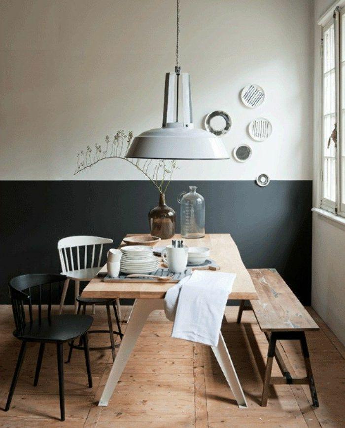 1001 Ideas Sobre Colores Para Salones Y Como Pintar La Sala De Estar Diseno De La Sala De Comedor Comedores Escandinavos Decorando Comedores