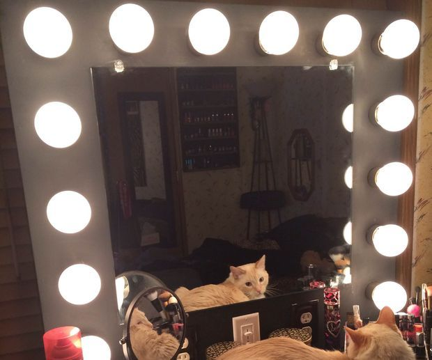 1000+ ideas about Mirror With Lights on Pinterest Mirror vanity, Hollywood mirror and Vanity ...