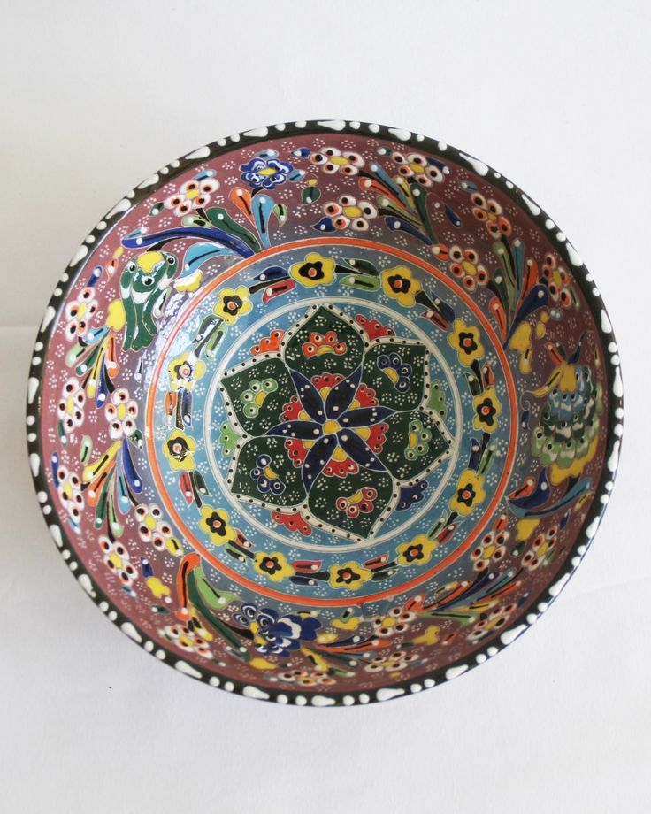 Add a bohemian touch to your table with our handmade Turkish bowls. Perfect for serving nibbles and salads but equally gorgeous on display on a coffee table, side table or console.INFORMATION...