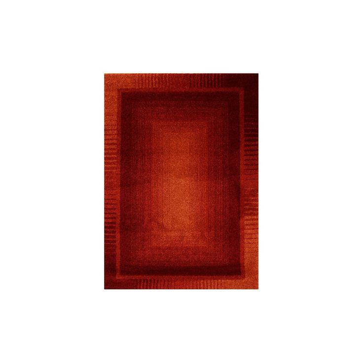 Kusový koberec Milled červený