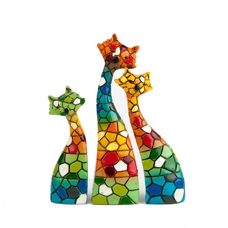 Cer mica figura de gatos mosaiquismo gatos pinterest for Figuras ceramica