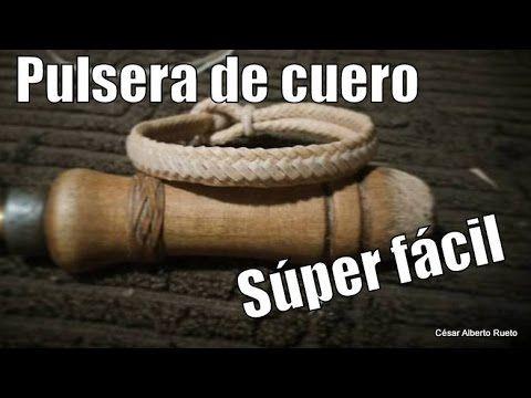 """Trenza de 8 """"Cuadrada""""(tranças com 8 tentos) El Rincón del Soguero - YouTube"""