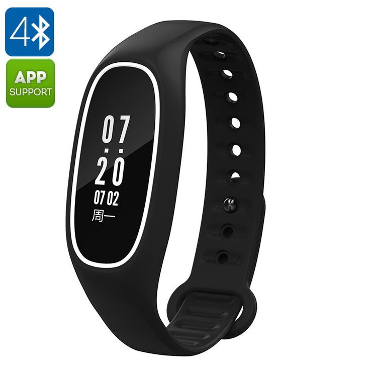 Fitness Tracker Bracelet DB01- Swimming Feature, IP67, Heart Rate, Pedometer, Blood Pressure, Calorie Counter, App (Black) - Fitness Tracker Bracelet DB01 is a high-end waterproof fitness band that features a heart rate monitor, pedometer, blood pressure monitor and a whole lot more.