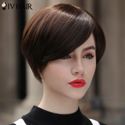 GET $50 NOW | Women's Stylish Human Hair Siv Hair Short Straight WigFor Fashion Lovers only:80,000+ Items • New Arrivals Daily • FREE SHIPPING Affordable Casual to Chic for Every Occasion Join RoseGal: Get YOUR $50 NOW!http://www.rosegal.com/human-hair-wigs/women-s-stylish-human-hair-442289.html?seid=4695937rg442289