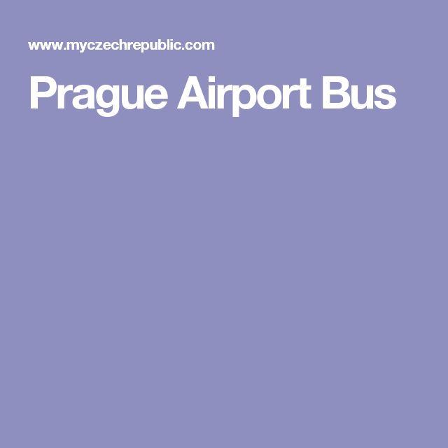 Prague Airport Bus