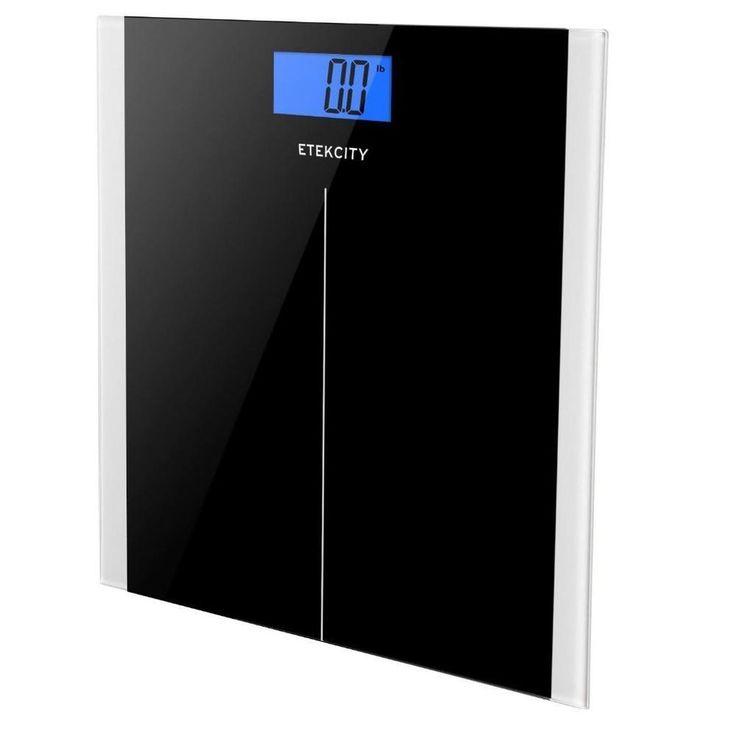 Etekcity Digital Body Weight Scale with Step-On Technology, 400 Pounds, Elegant #Etekcity