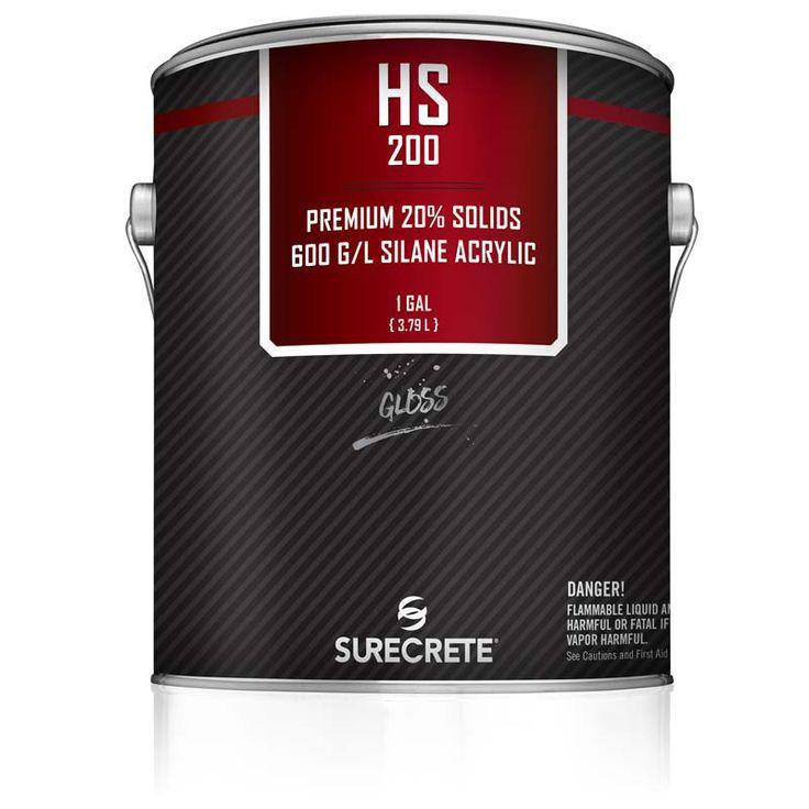 Premium Exterior Clear Stamped Concrete Sealer 20% Solids HS 200™