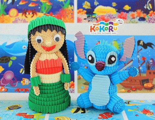 61 best images about kokoru on pinterest spooky for Lilo and stitch arts and crafts