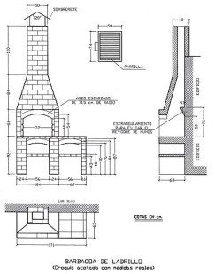 Construir una barbacoa | Hacer bricolaje es facilisimo.com