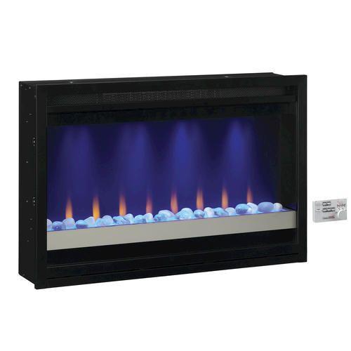 "ChimneyFree™ 36"" Contemporary Built-in Electric Fireplace Insert, 120 volt at Menards®: ChimneyFree™ 36"" Contemporary Built-in Electric Fireplace Insert, 120 volt"