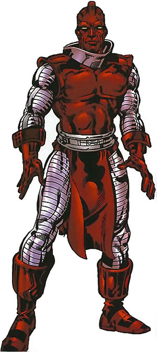 Our notes about Marvel Comics' High Evolutionary during his classic appearances. RPG stats for DC Heroes, characterisation notes, quotes, pictures...