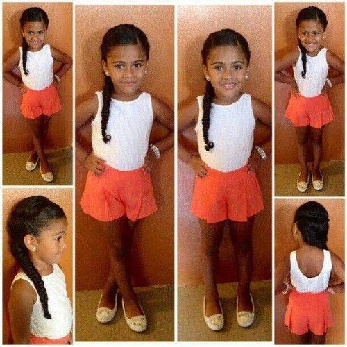 #mixed #babies #mixedbabies  Sam and I daughters could look like this un dia