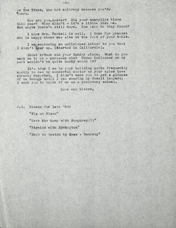 A series of letters including five unsigned file copies of Marilyn - prize winner letter template
