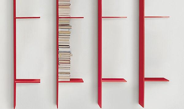 contemporary lacquered wall shelf LIVE by Giuseppe Viganò Arflex