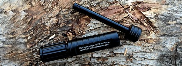 Bushcraft Essentials Fire Piston and Char Cord Review