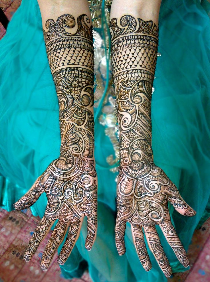 Latest Popular Bridal Mehndi Designs 2014  #ArabicMehndiDesigns #MehndiDesigns #BridalMehndiDesigns