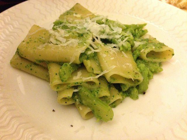 Pasta con I broccoli bimby