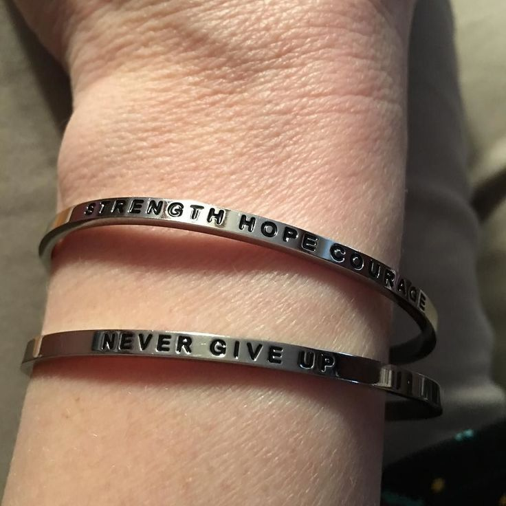 Do you have something you wear to give you reminders throughout the day to help you find your inner bada$$? Two special friends gave me these bracelets over a year ago and I always wear them on days I feel like I need a little boost... Seeing these on my wrist makes me smile  #friends #inneebadass #universehasmyback #tgif #beachbody #fight #healthyismygoal
