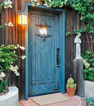 Rustic - Rustic - Entry - Santa Barbara - Sheri Mize Design Studios
