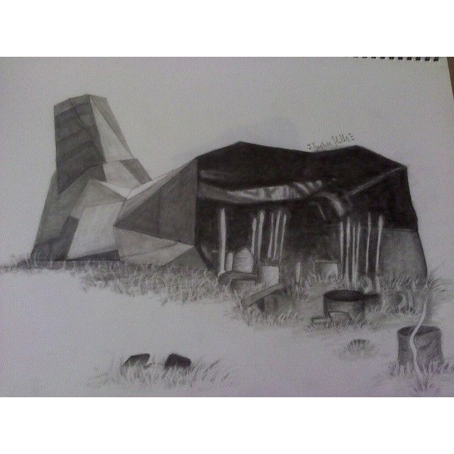 Cornucopia from The Hunger Games #art #TheHungerGames #THG