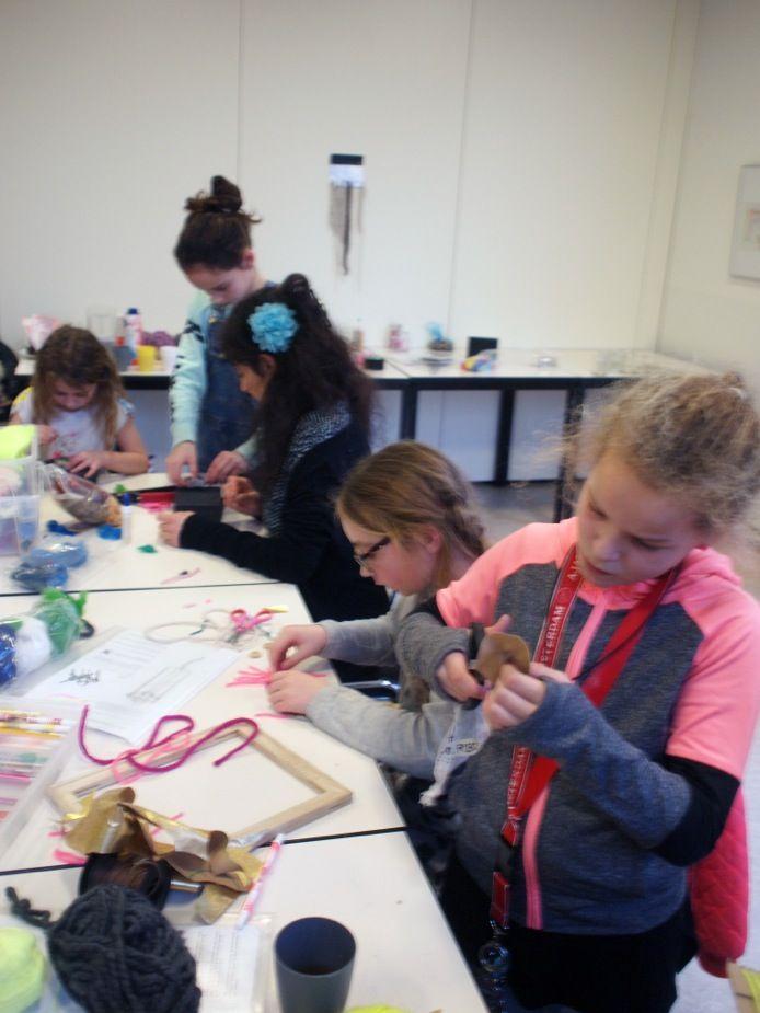 Naschoolse activiteit 'Lol met Wol' | Eindpresentatie | Atelier Braakmans Van Beuningen