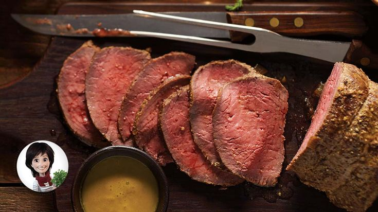 Rôti de bœuf au jus
