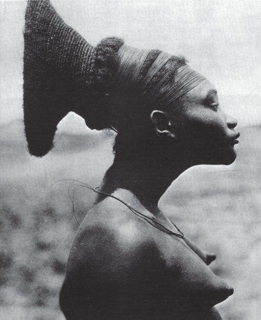 yagazieemezi:  Nobosodrou, a Mangbetu woman in the Democratic Republic of the Congo.