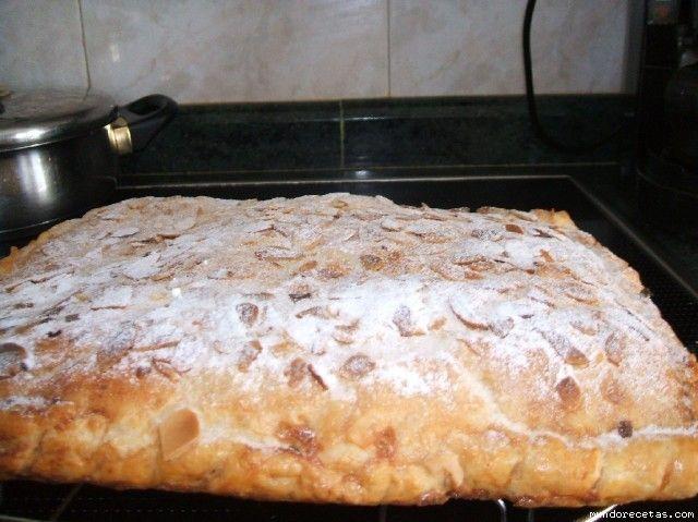 Receta de empanada de almendra