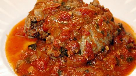 Bragioli recipe..(for chop meat we prefer beef than veal)