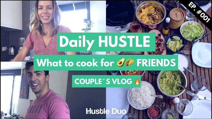 What to cook for friends (Mexican dinner) - healthy tips and tricks & daily hustle of one married couple.  Zurich, Switzerland