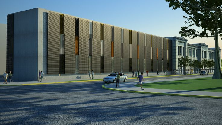 Liceo Marta Donoso Espejo / Talca CHILE / PLAN Arquitectos www.planarquitectos.cl