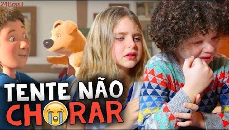 DESAFIO: TENTE NÃO CHORAR - NÃO DEU!! | Try Not to Cry Challenge (ft. Manu)