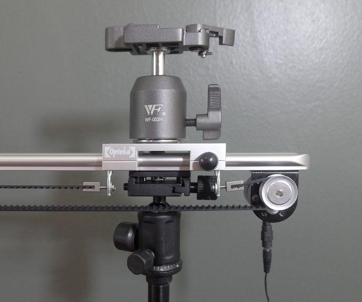 The internet 39 s cheapest motorized belt driven 48 diy for Stepper motor camera slider