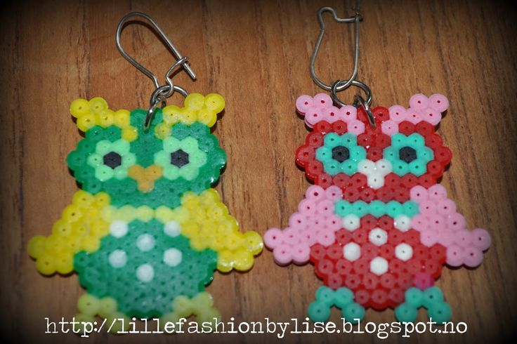 mini hama earrings lillefashion.by.lise