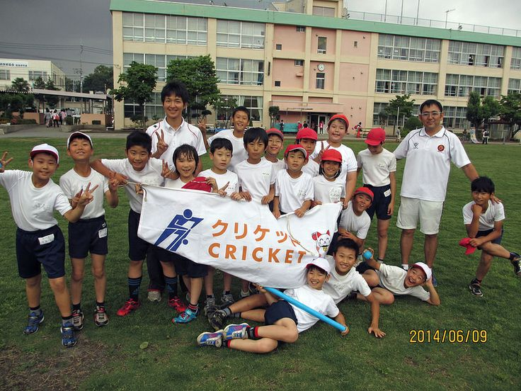 拝島第2小部活クリケット!#akishima #cricket #昭島 #クリケット 今日も元気に部活メンバー18人は雨にも降られず無事にクリケットが出来ました!